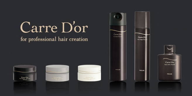 Carre D'or カルドール for professinal hair creation